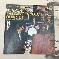 THE DAVE BRUBECK QUARTET - Newport Jazz Festival 1958 Columbia Album Record