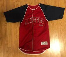 La Angels Of Anaheim Baseball Jersey Size Small 6/7 Euc
