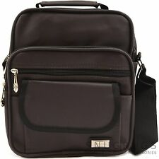 Mens / Ladies Canvas Style 'Small Messenger' Work / Travel Shoulder Bag
