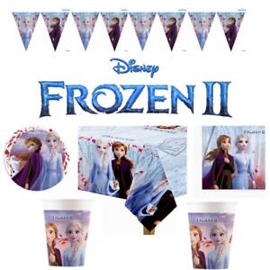 FROZEN 2 Theme Party Supplies Disney FROZEN 2 Birthday Plates Cups Decoration