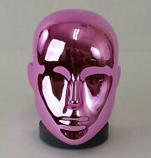 Less Than Perfect T Chrome Pink Female Mannequin Head Attachment Pierced Ears