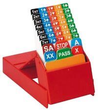Bidding Box per il bridge confezione da 4 pezzi Modiano 307871