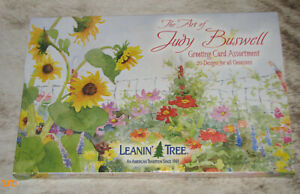 LEANIN TREE Judy Buswell 20 GREETING CARD ASSORTMENT~20 Different Designs #90608