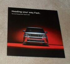 Range Rover Sport HST Launch Flyer