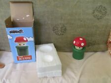 SUPER MARIO Mushroom and Tunnel Salt and Pepper Shakers Arcade Block Nerd Block