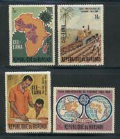 Burundi Scott #276-279 MNH Yaoundé Agreement Maps $$