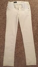 e48c3319ed5d4 J.CREW STRETCH MATERNITY MATCHSTICK JEAN IN CHALK - 27 - SOLD OUT!
