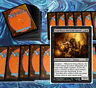 mtg MODERN BLACK DECK Magic the Gathering rare 60 cards king macar gonti