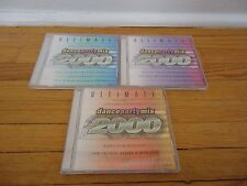 Ultimate Dance Party Mix 2000 3 CD Set Vol 1,2,3