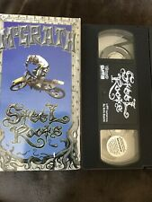 """Steel Roots II """"2"""" Jeremy McGrath Supercross A 16mm Film VHS Tested Works Well"""