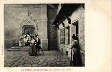 CPA PARIS EXPO 1900 - Le Palais du Costume. Un bapteme en 1830 (308608)