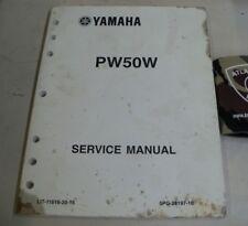 YAMAHA PW50W MOTORCYCLE SERVICE SHOP REPAIR MANUAL C.R. 2006