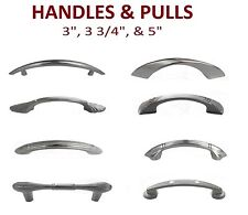 "3"" 3.75"" & 5"" Cabinets Handle Pulls Kitchen Hardware Brushed Nickel Best Price"