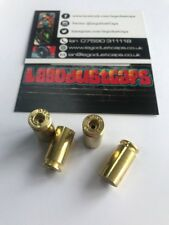 Bullet Valve Caps Genuine Calibre .40 coquille en laiton bouchon anti-poussière militaire Vespa Harley