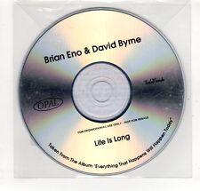 (GP378) Brian Eno & David Byrne, Life Is Long  - DJ CD