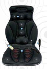 Respaldo masaje asiento masajeador funcion calor vibracion mechero coche y casa