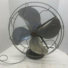 "ANTIQUE VINTAGE Signal oscillating old fan original Works! 16"" See Description"