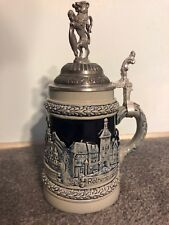 Limited Edition German Handcrafted Lidded Beer Stein by Zoller & Born