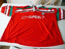 maillot de rugby Vintage Pau Section Paloise  Epsport XL rouge rare