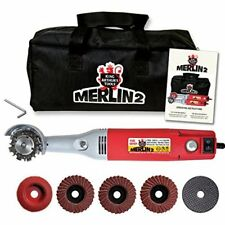 10005 NEW King Arthur's Tools Merlin 2 Mini Grinder Carving Kit 110V