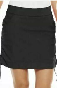 Columbia Women's Active Fit Casual Black Skort Omni Shield Medium NWT