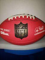 Red Wilson NFL Mini Football Kid Size Roger Goodell The Duke GREAT SHAPE