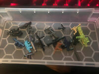 Lego Weapons Brickarms 10 Lot Color and Weapon Variety Pack*CLEAN*