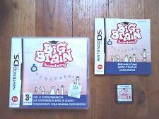 Jeu Nintendo DS - Big brain academy