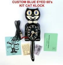 New ListingVintage-1960s Electric-Custom Kit Cat Klock-Kat Clock-W/Orig. Motor Rebuilt-Usa