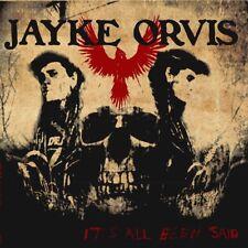 JAYKE ORVIS - IT'S ALL BEEN SAID   VINYL LP NEW+