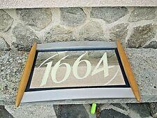 Plateau publicitaire vintage-Miroir pour la bière 1664-Bar-Pub-Kronenbourg