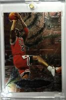 1996 96-97 Fleer Metal Shredders Michael Jordan #241, Sharp! Chicago Bulls HOF