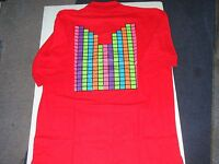 COOGI MEN POLO SHIRTS, NWT.COLORED BLOCKS DESIGN ON BACK