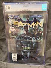 BATMAN #1 CGC 9.8 ETHAN VAN SCIVER VARIANT NEW 52