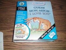 Leap Frog Little Touch Guess How Much I Love you book & Cartridge in package