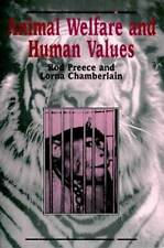 Animal Welfare and Human Values-ExLibrary