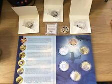 100th Anniversary RAF 1918-2018 2 X Coins And Battle Of Britain X 3 Coins