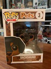 Pop Pets Dachshund 3 Funko Pop Vinyl EXPERT PACKAGING