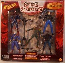 Marvel Spider-Man Spider & The Scarecrow Chameleon Peter Parker ToyBiz Sense MIB