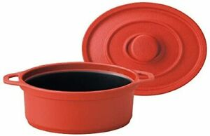 Cookware Red M11-289 microwave dedicated mini Coco Oval small small