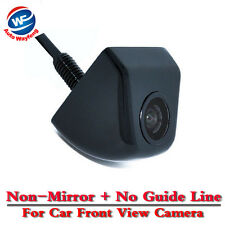 Hot Car Front View Camera Waterproof Without Parking Lines Non-mirror - Black
