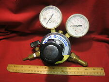 VWR Scientific Argon Regulator 4000 psi and 200 psi gauges
