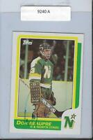 Don Beaupre 1986 Topps Autograph #89 North Stars