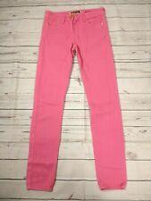 River Island Pink Skinny Stretch Denim Jeans W28 L31 Size UK 6 8