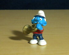 Smurfs Rare French Horn Smurf Marching Band Instrument Figure Vintage Toy 20483