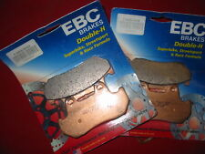 2 EBC BRAKE PAD SET FA69/3HH VF700 VF750 VT1100 GL1200 VF700C VF750C VT1100C