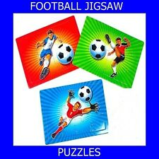 120 MINI FOOTBALL JIGSAW PUZZLES-PARTY BAGS LOOT BAGS