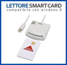 LETTORE SMART CARD USB FIRMA DIGITALE CAMERA DI COMMERCIO WINDOWS E MAC OS
