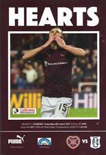 Corazón de Midlothian (corazones) v Dundee FC 8/4/2017 primera división coinciden con programa