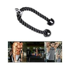 Fitness Tricep Rope Multi Gym Cable Attachment Press Arm Push Pull Down Exercise